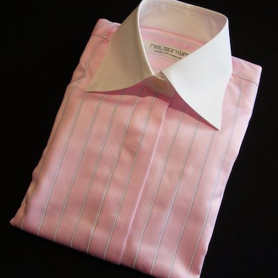NELSON WADE, custom ladies collared blouses.